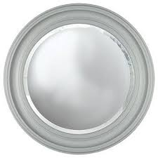 ls plus round mirror wooden mirrors john lewis