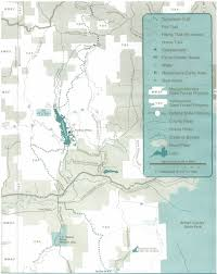 Raccoon Creek State Park Map by Yellowwood State Forest Maplets