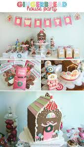 kara u0027s party ideas gingerbread house party ideas supplies idea