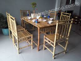 Bamboo Dining Table Set Bamboo Dining Table Chairs Http Enricbataller Net Pinterest