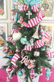christmas tree ribbon decorations christmas lights decoration