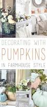 decorating with pumpkins in farmhouse style farmhouse style