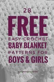 best 25 easy crochet baby blankets ideas on pinterest
