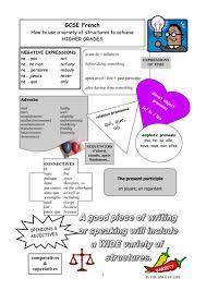 gcse french revision vocabulary writing u0026 reading tes