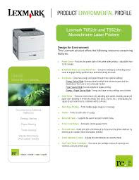 download free pdf for lexmark t652dn printer manual