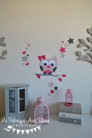 deco chambre papillon stickers hibou atoiles papillon inspirations avec deco chambre