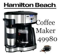 Dispensing Coffee Maker Beach 2 Way Brewer Drip Machine Free