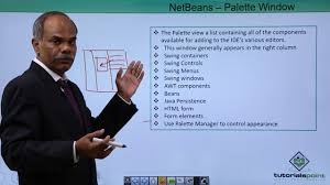 tutorialspoint netbeans netbeans palette window youtube