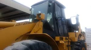 oil change on a caterpillar 950h wheel loader youtube