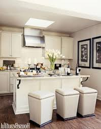 Kitchens With Stainless Steel Countertops Small White Kitchens Curved Granite Countertops Beige Ceramic Tile