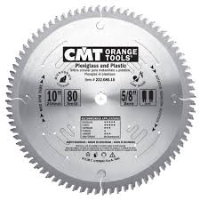 cmt 222 080 10 industrial plexiglass and plastic saw blade 10