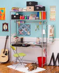 Wire Shelving Desk 52 Best Everything Wire Shelf Additions Images On Pinterest