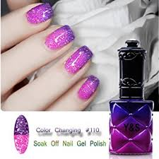 perfect summer chameleon change colour gel nail polish soak off