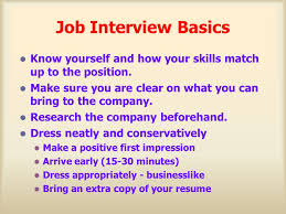 Bring Resume To Interview Interview Tips Ppt Download
