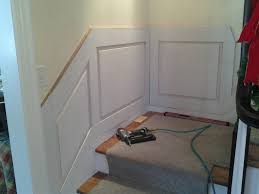 building and installing wainscot