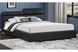 Upholstered Platform Bed King King Size Upholstered Platform Bed W Adjustable Headrest
