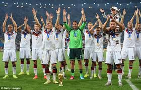 lukas podolski takes the captain s seat as germany wing their way