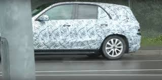 mercedes a class second second generation mercedes gle class shows grille and side skirts