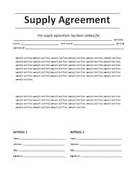 7 agreement templatereport template document report template