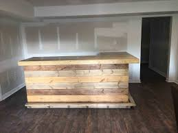Reception Desk Wood Sales Counter The Pallet Reception Desk Rocky Top X Rustic