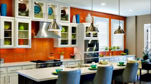 orange kitchen color trend youtube