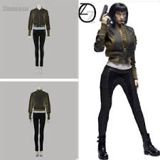 ghost clothing ghost in the shell costume kusanagi motoko clothes