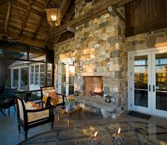 fireplace hearth ideas porch traditional with candles fireplace