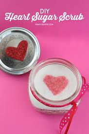 heart sugar scrub recipe oh my creative
