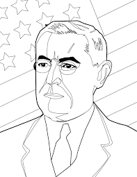 woodrow wilson coloring page handipoints