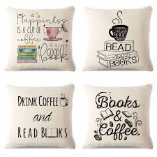 read in bed pillow summer chair decorative watercolor style yarn book reading sofa