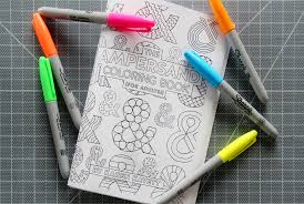 available now the ampersand coloring book for karen kavett
