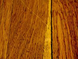 how to deal with surface scratches on a hardwood floor