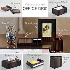 Office Desk Essentials Elvy
