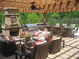 Patio Designs With Pergola by Landscaping Ideas U003e Landscape Design U003e Pictures Outdoor Kitchen