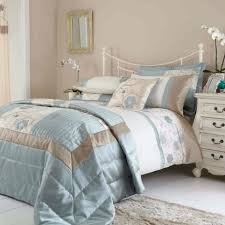 duvet covers duck egg blue and brown bedding for couple bedroom