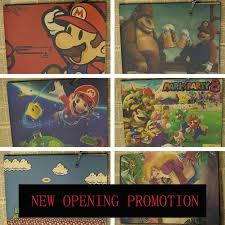 Super Mario Bedroom Decor Super Mario Brick Shelves Bros Giant Wall Decals Sheet Set Bedroom