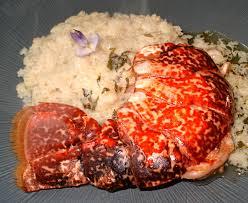 cuisine langouste plancha queue de langouste au teppan yaki