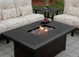 Firepit Table Ideas Outdoor Propane Fireplace The Home Redesign Brilliant