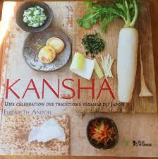 livre de cuisine japonaise kansha pour les passionnés de cuisine japonaise veggiebulle