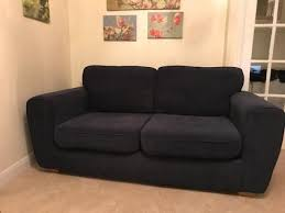 Sofa Bed Sets 2 Seater Navy Blue Fabric Sofa 2 Seater Sofa Bed Set Suite