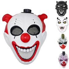 rob zombie halloween clown mask online buy wholesale joker airsoft mask from china joker airsoft