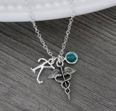 med school graduation gift rn necklace rn graduation gift rn jewelry assistant