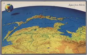 Siberia On World Map by Japan From Siberia David Rumsey Historical Map Collection
