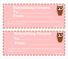 blank coupon template free mother u0027s day coupon book printable