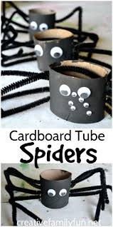 halloween in jackson 5 spooky and adventurous ways to get into cardboard tube spiders for halloween cardboard tubes spider and