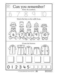kindergarten preschool math worksheets learning 6 10 greatschools