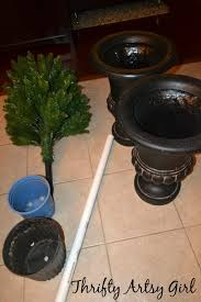 Potted Christmas Trees For Sale by Oh Christmas Tree Diy Potted Topiary Skinny Christmas Trees In