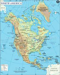 Baffin Bay On World Map by North America Diving Information I Scuba Diving Resource