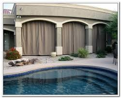 Patio Curtains Outdoor Outdoor Patio Curtains Free Home Decor Oklahomavstcu Us