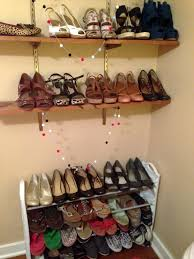 Wall Shelves Target Furniture Simple Shoe Racks Target With Wood And Metal Material
